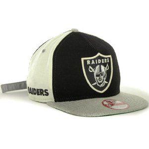 Oakland Raiders New Era Wool Blend Strapback Hat